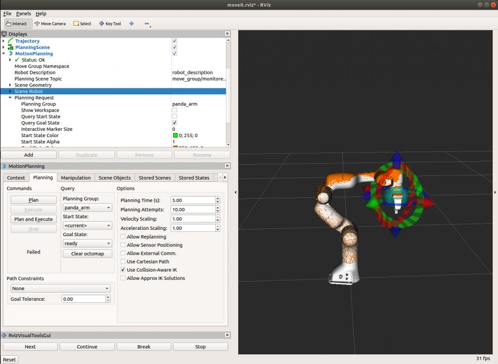 Integrating FRANKA EMIKA Panda robot into Gazebo – Erdal's blog